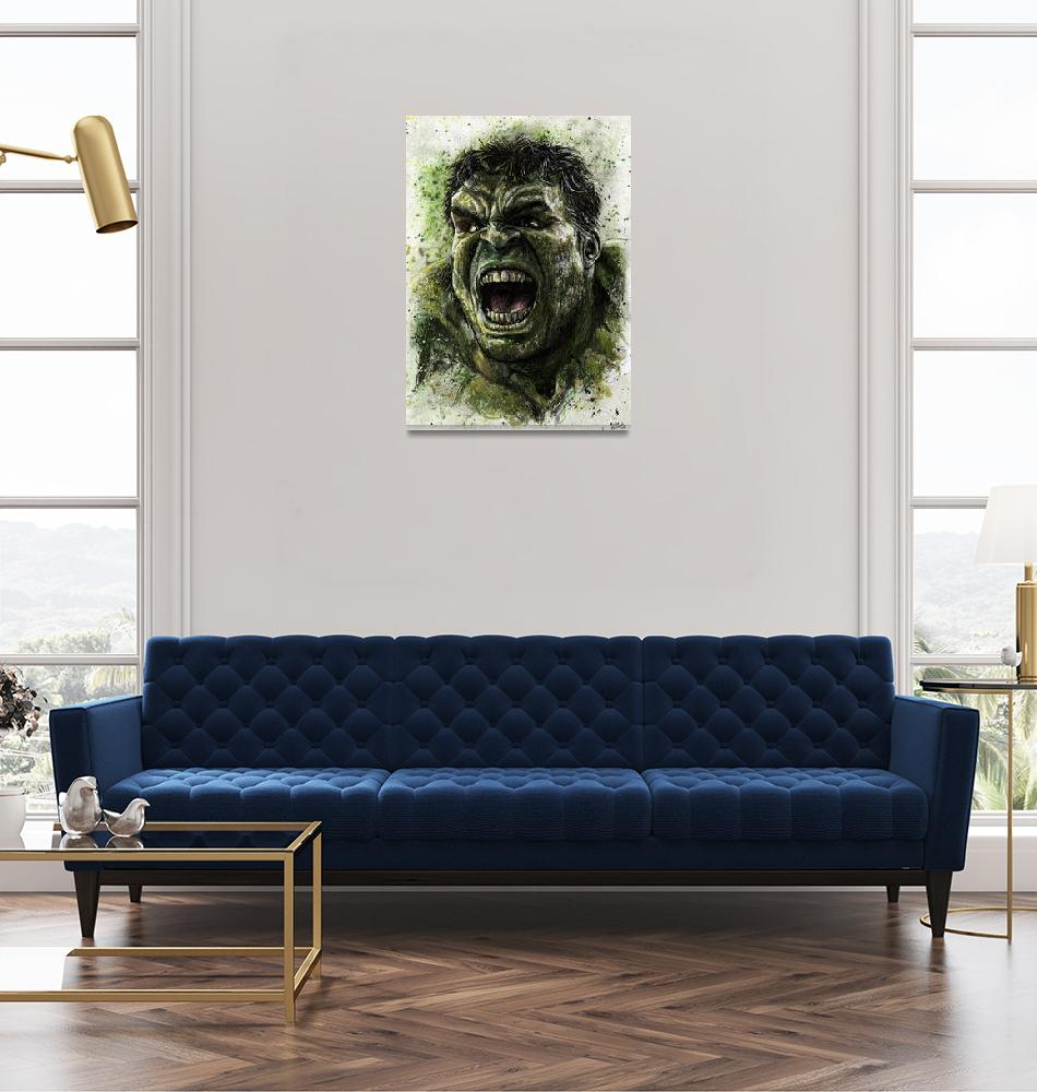 """Hulk Smash""  (2015) by NateMichaels"