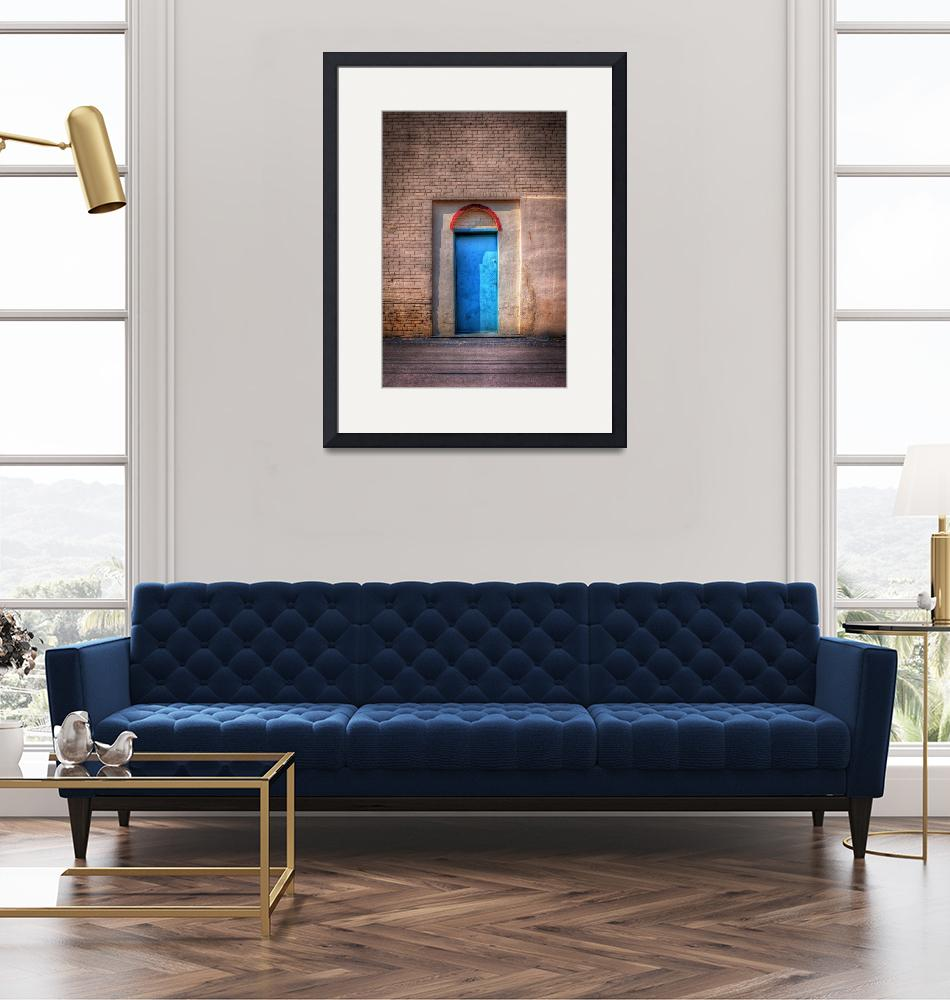 """""""The Blue Door""""  (2010) by wb"""