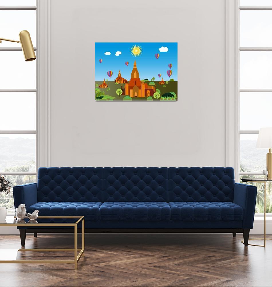 """Temples in Cambodia""  by Design4uStudio"