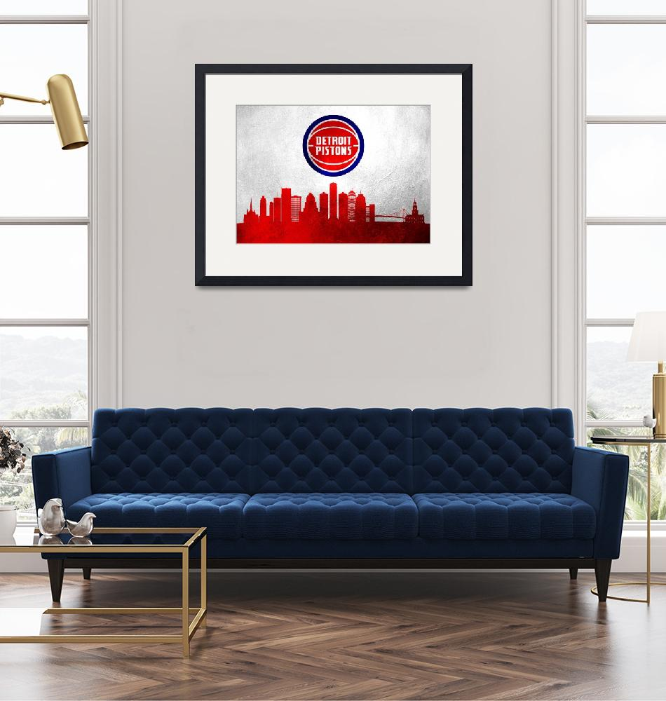 """""""detroit pistons 4""""  (2020) by ABConcepts"""