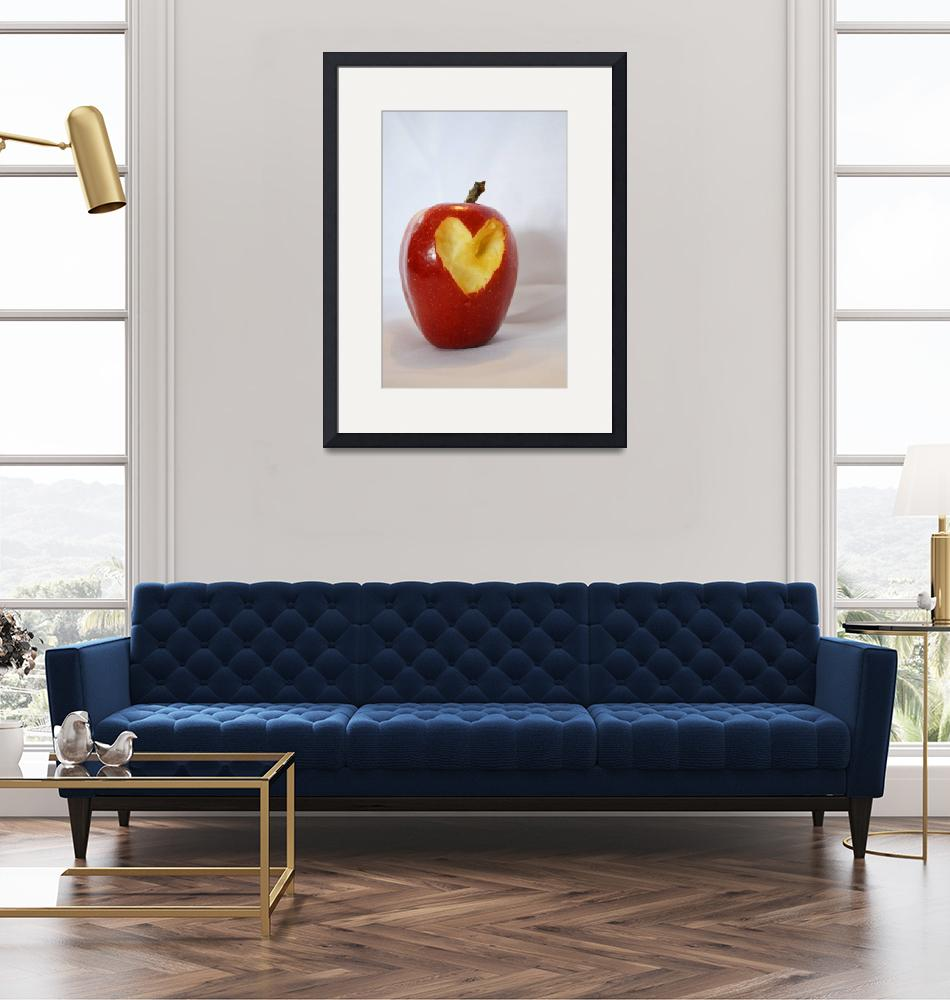 """""""I Heart Apples""""  (2011) by tracicat"""