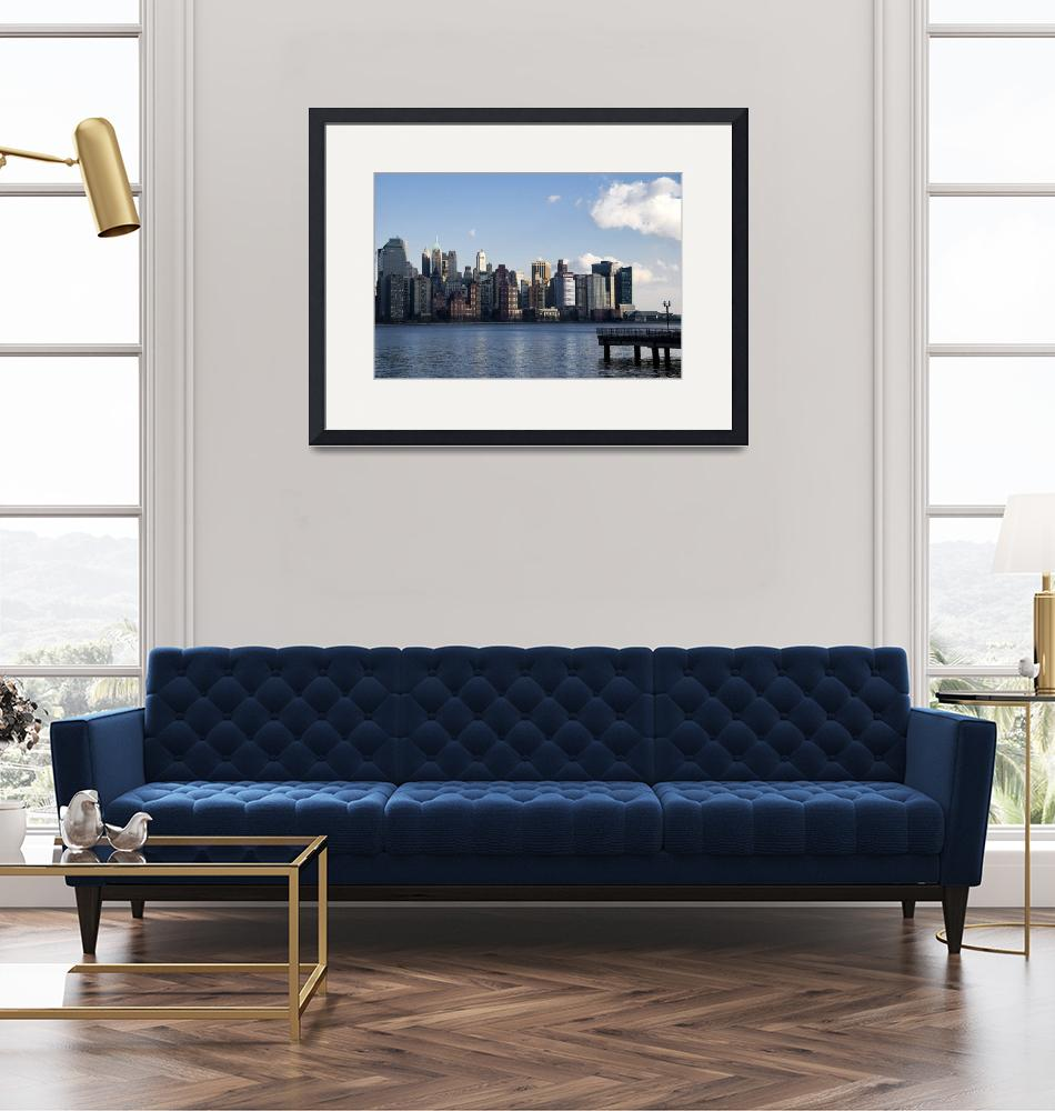 """""""Downtown NYC Skyline""""  (2008) by mentat"""