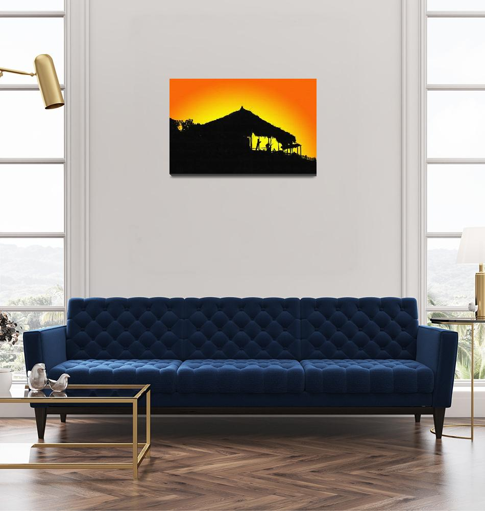 """""""Sunset In Makatao""""  (2010) by robbdee40"""