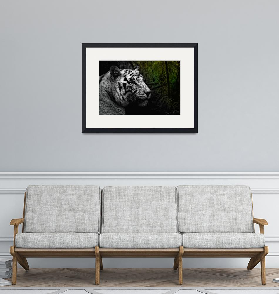 """""""White Tiger""""  (2012) by Marsea"""