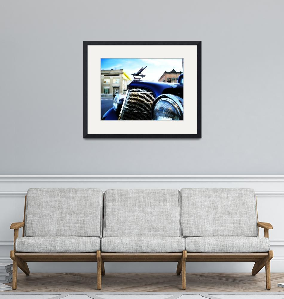 """""""old blue car""""  (2007) by studiobrian"""