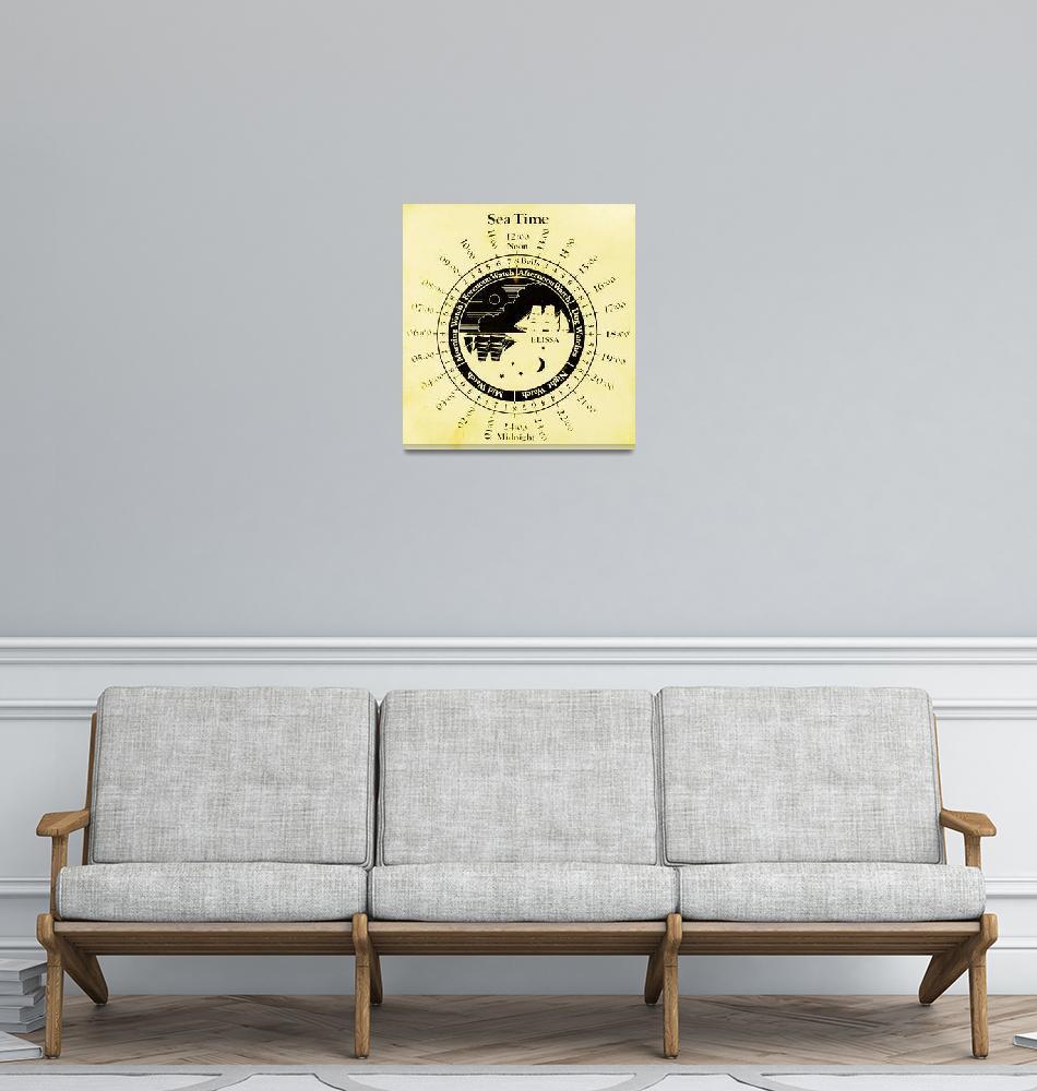 """Sea Time - Elissa Chart""  (2013) by awsheffield"