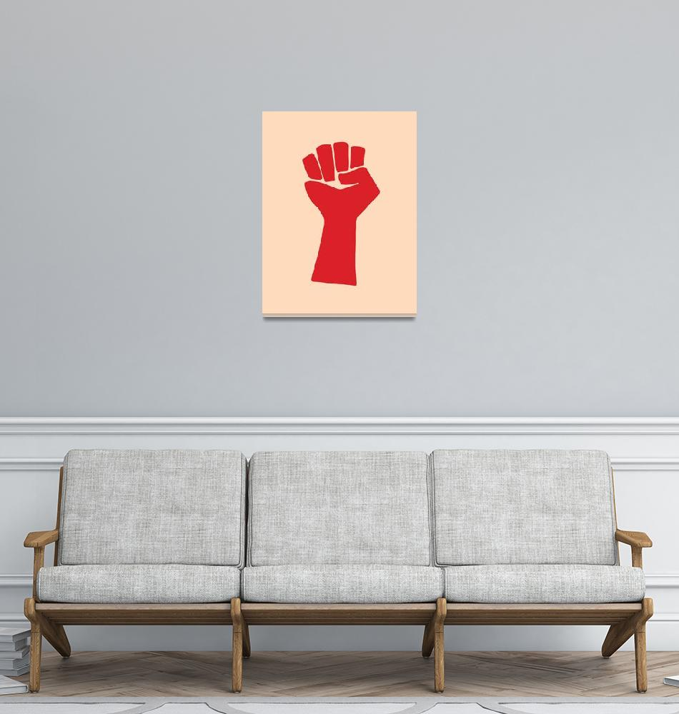 """""""Clenched Fist""""  by jvorzimmer"""