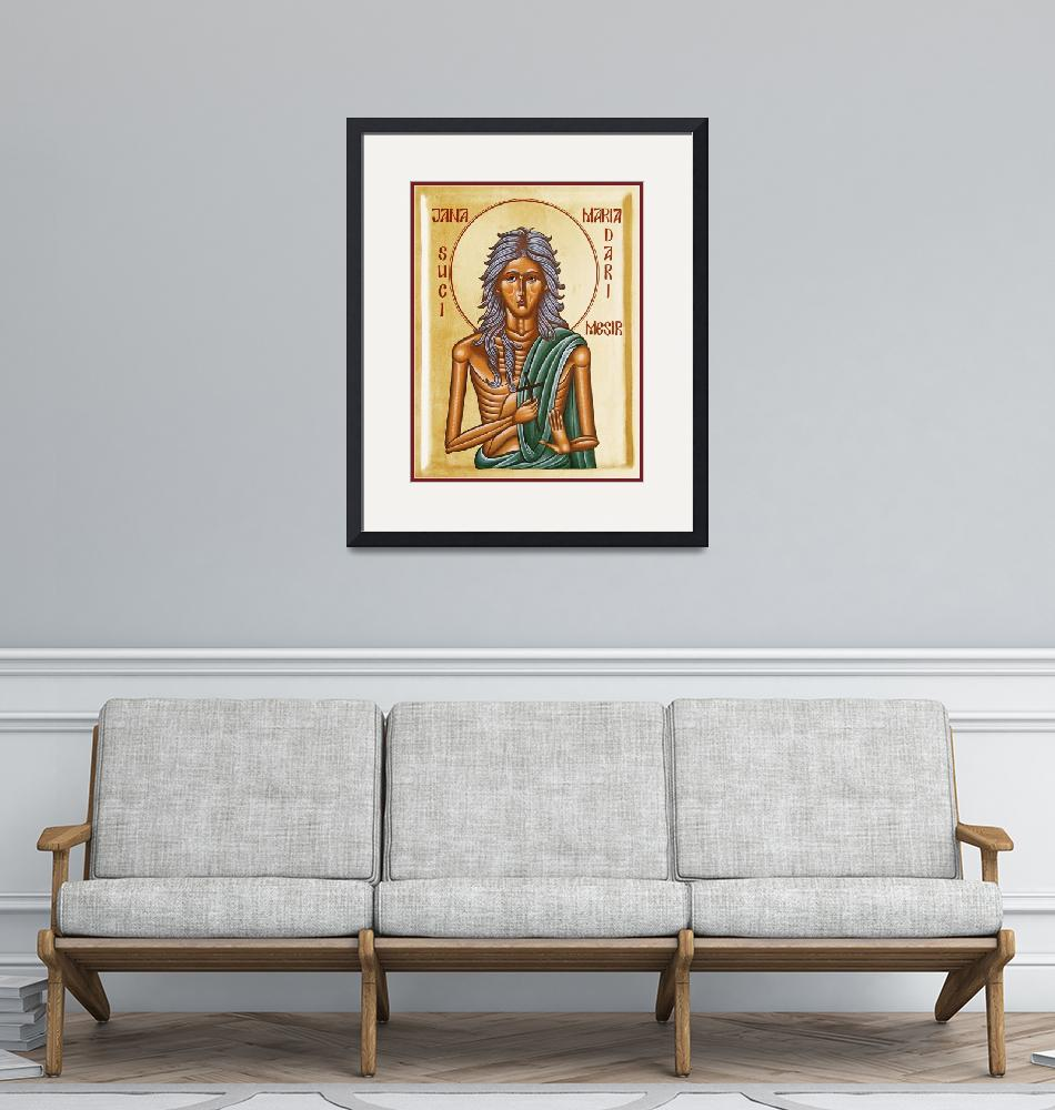 """""""St Mary of Egypt""""  (2005) by ikonographics"""