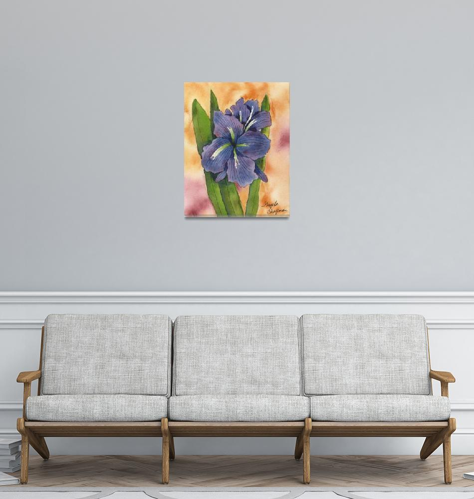 """Blue Iris""  by GayelaChapman"