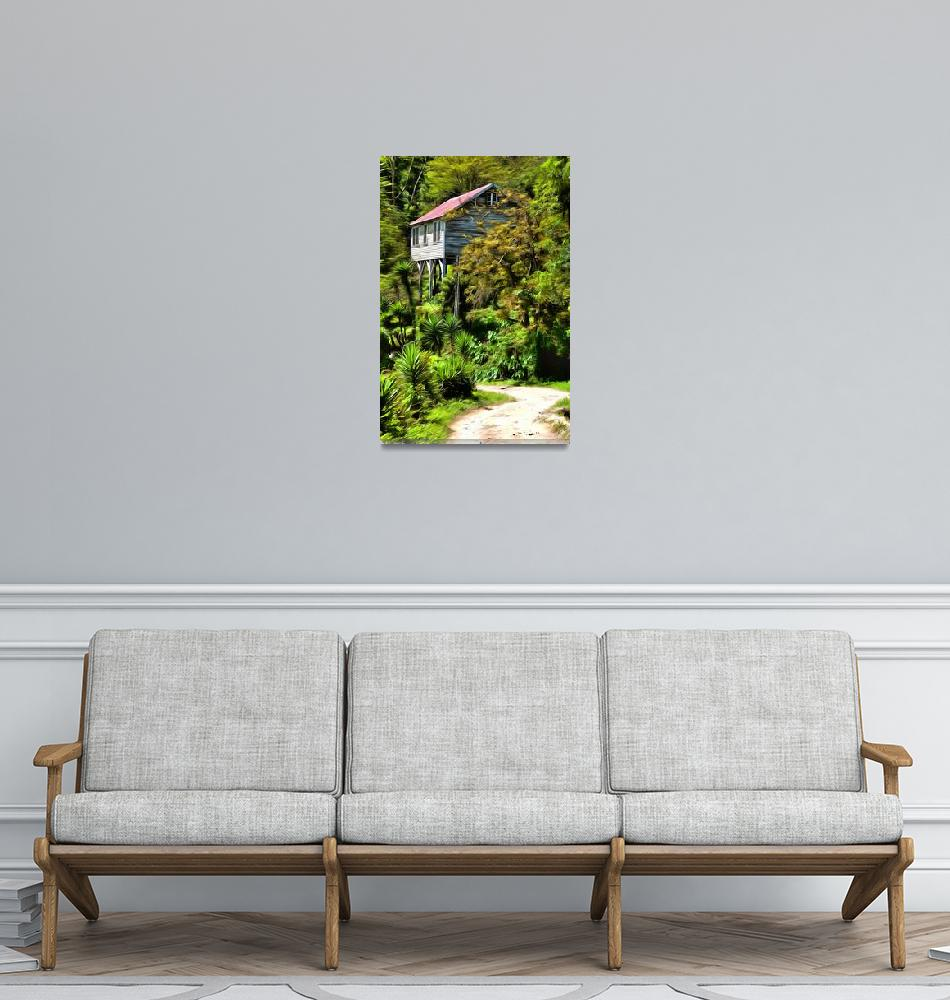 """""""Honduran House in the Jungle""""  (2015) by lmarc1"""