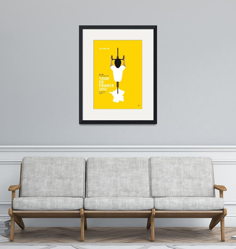 """""""MY TOUR DE FRANCE MINIMAL POSTER""""  by Chungkong"""