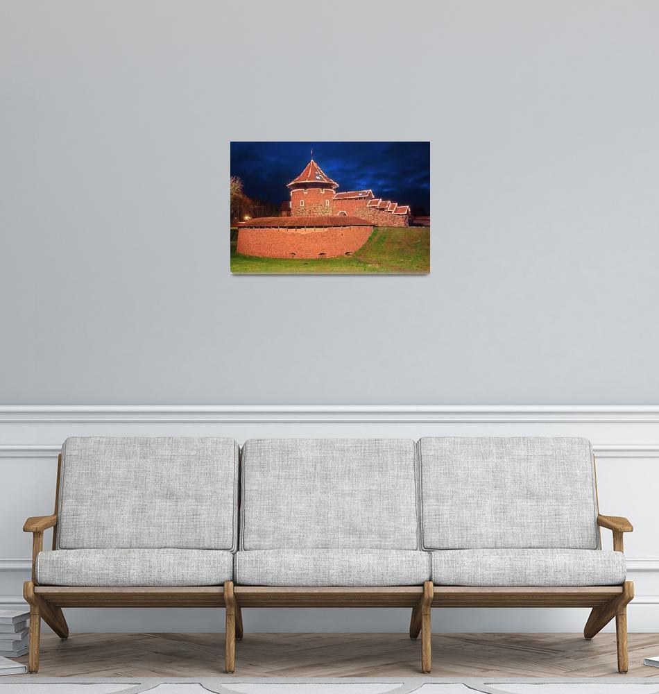 """Kaunas Castle""  (2008) by linask"