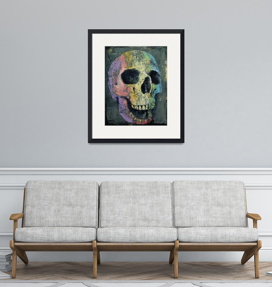 """Happy Skull""  by creese"