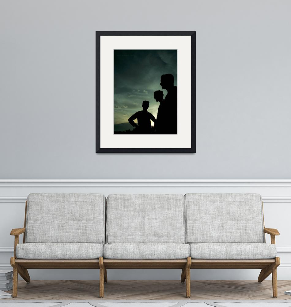 """""""three - silhouettes""""  by abulboac"""