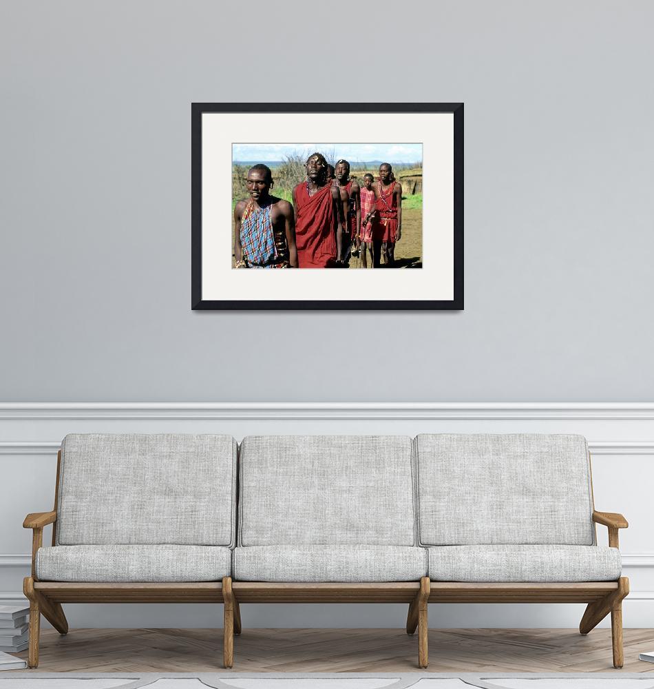 """""""The Masai Show""""  (1994) by JoaoPonces"""