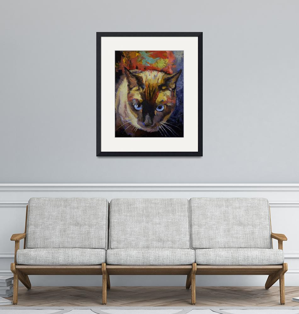 """""""Seal Point Siamese""""  by creese"""