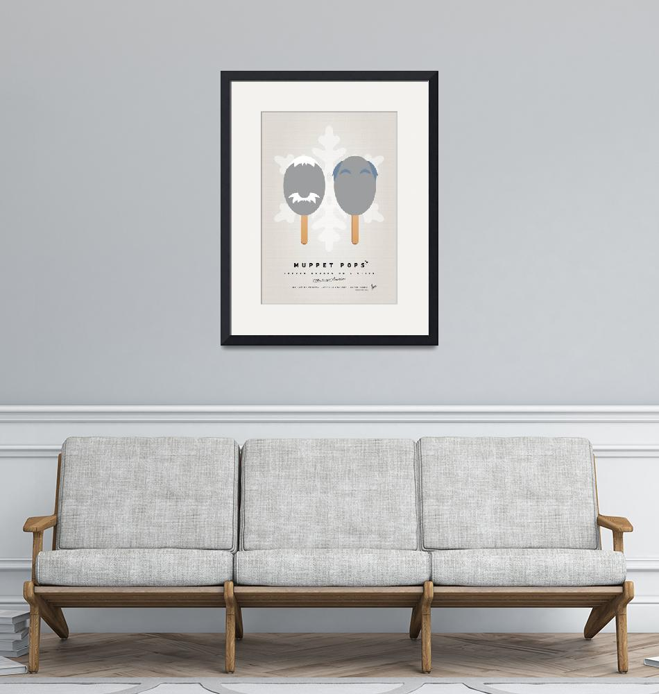 """""""My MUPPET ICE POP - Statler and Waldorf""""  by Chungkong"""