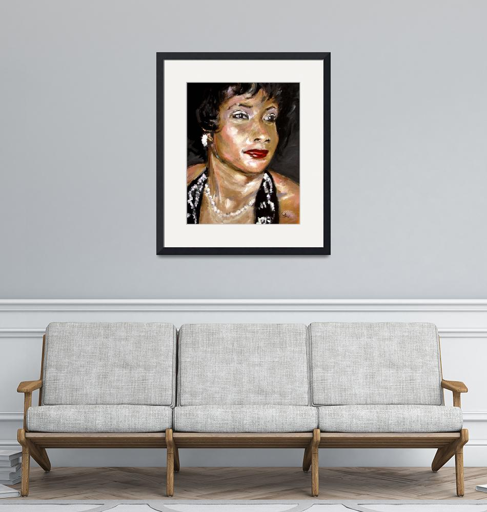 """""""Soul Singer Original Painting by Ginette Callaway""""  (2002) by GinetteCallaway"""