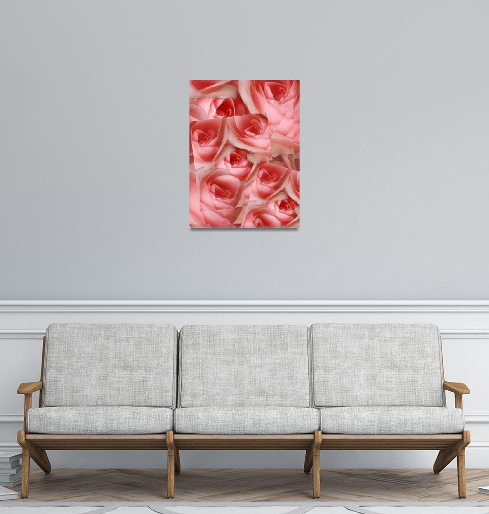 """Rose Collage""  (2006) by garlanddunston"