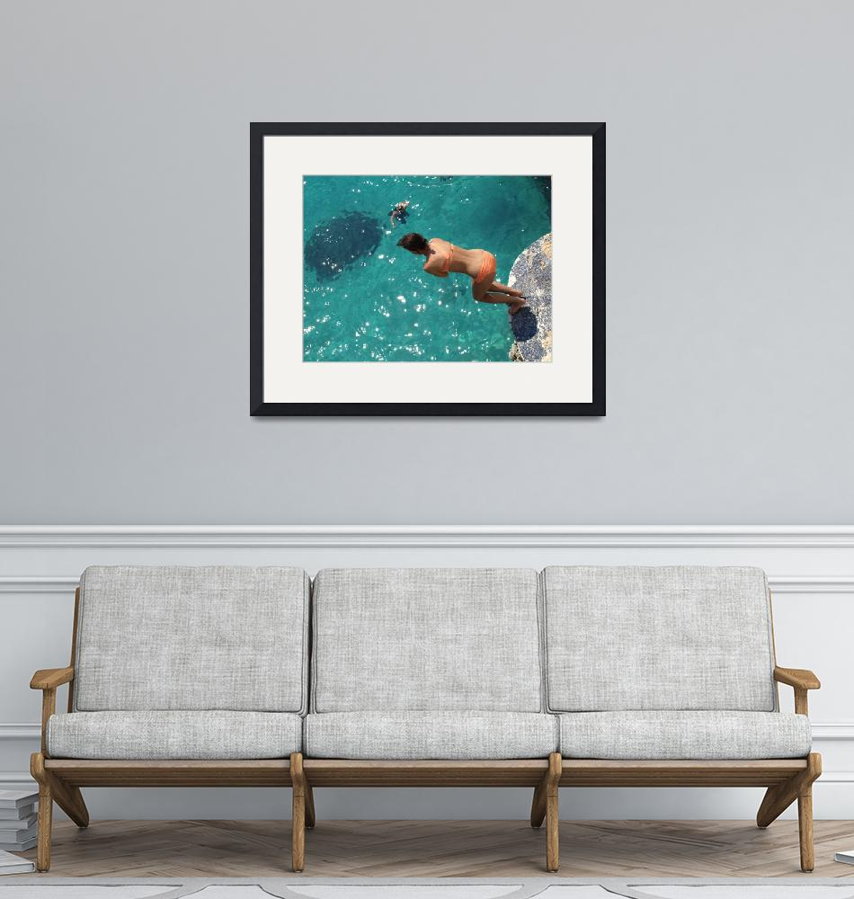 """""""Dive""""  (2010) by PhotoOvr"""
