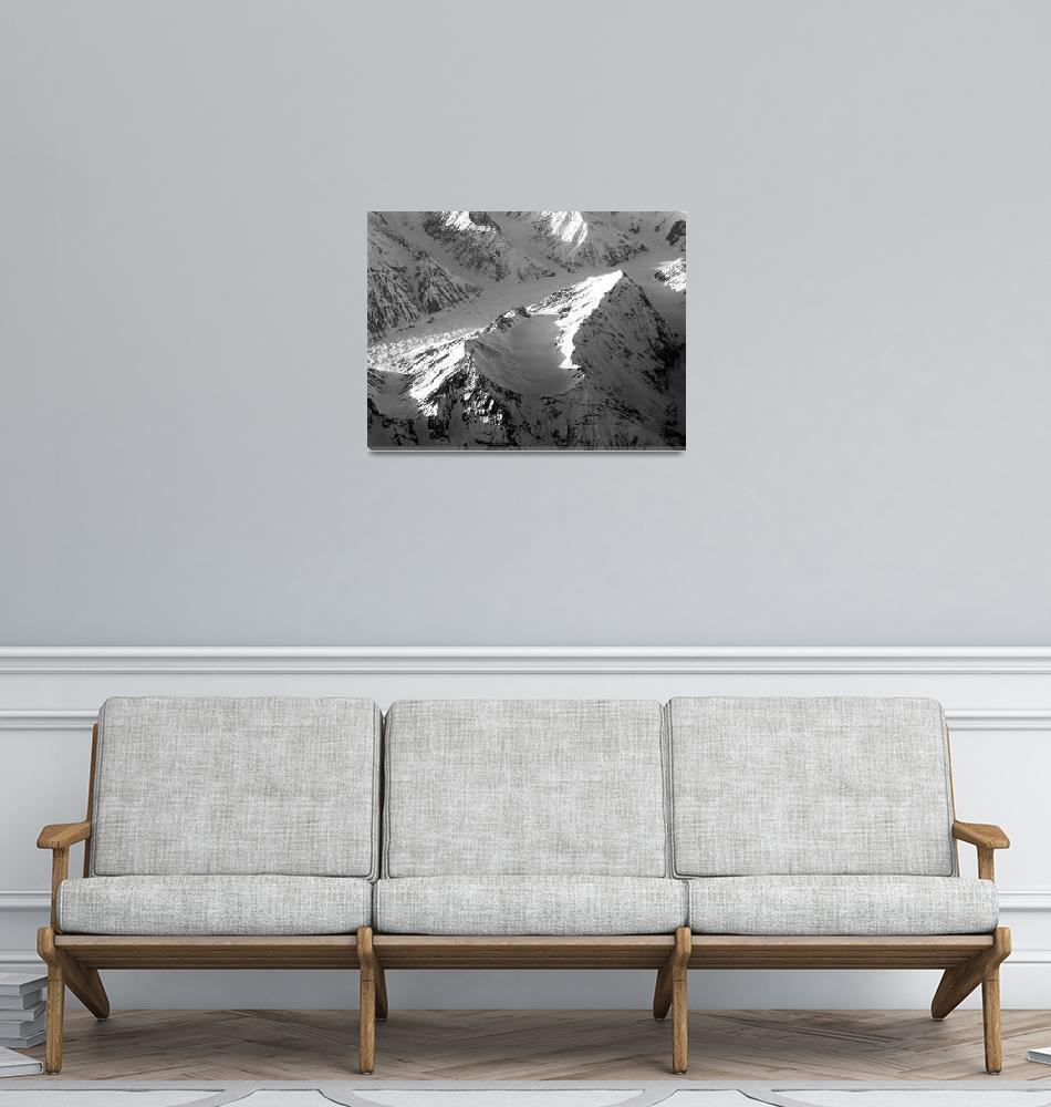 """""""Glaciers Feeding Zeravshan River 6""""  (2006) by Liberando4Life"""