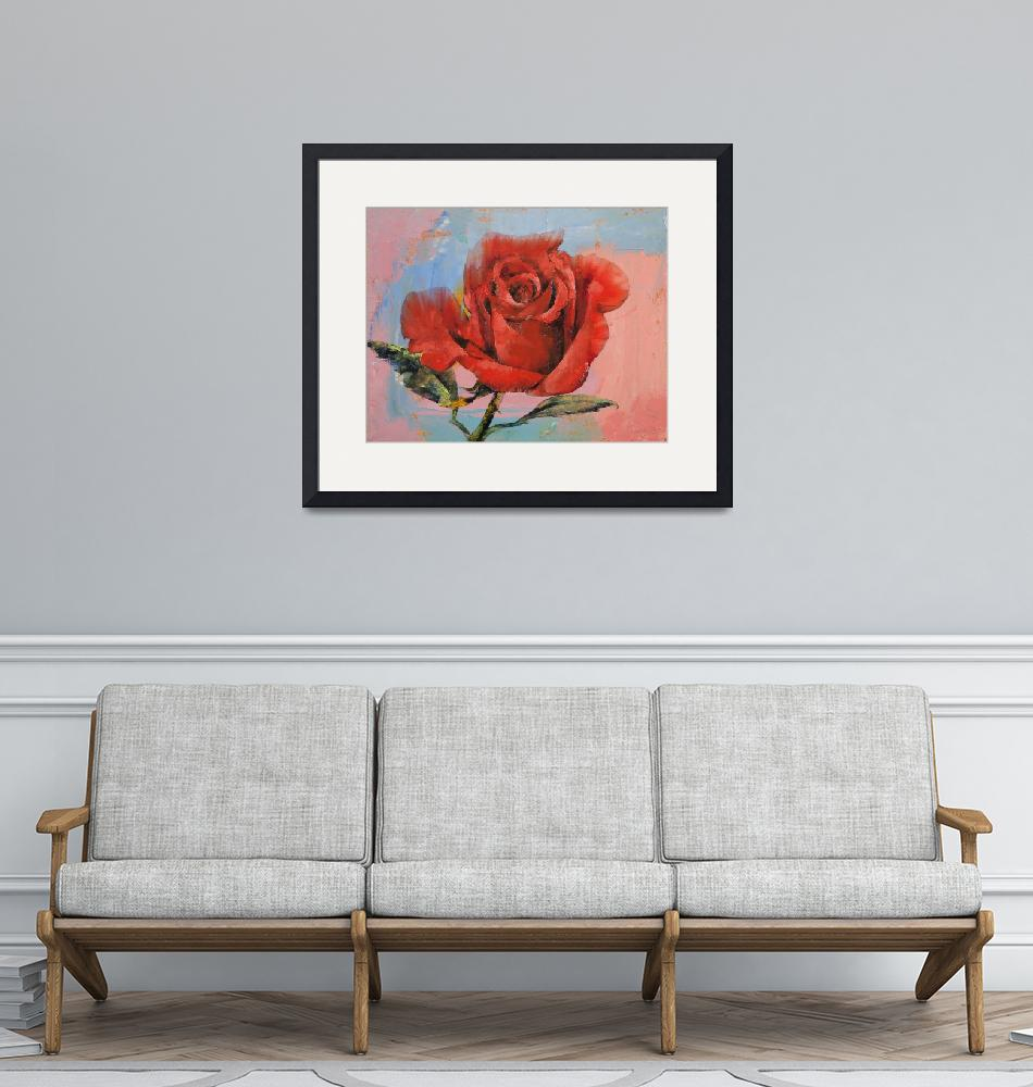 """""""Rose Painting""""  by creese"""