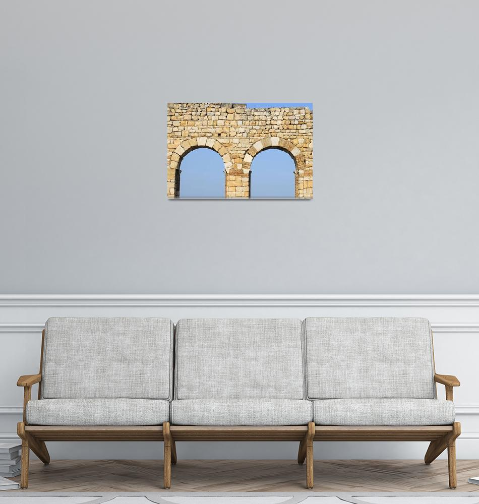 """""""Arches of Basilica of Volubilis, Morocco""""  by petrsvarc"""