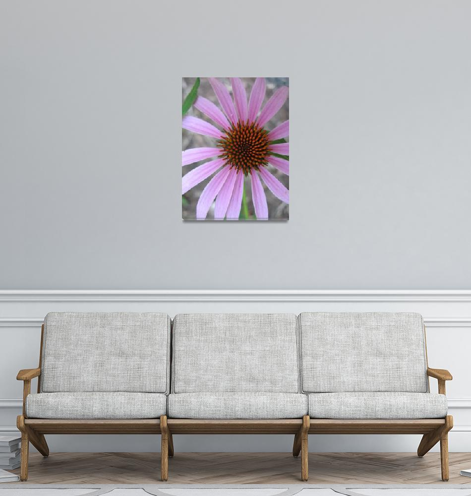 """""""purple daisy""""  (2008) by LauriesCreations"""