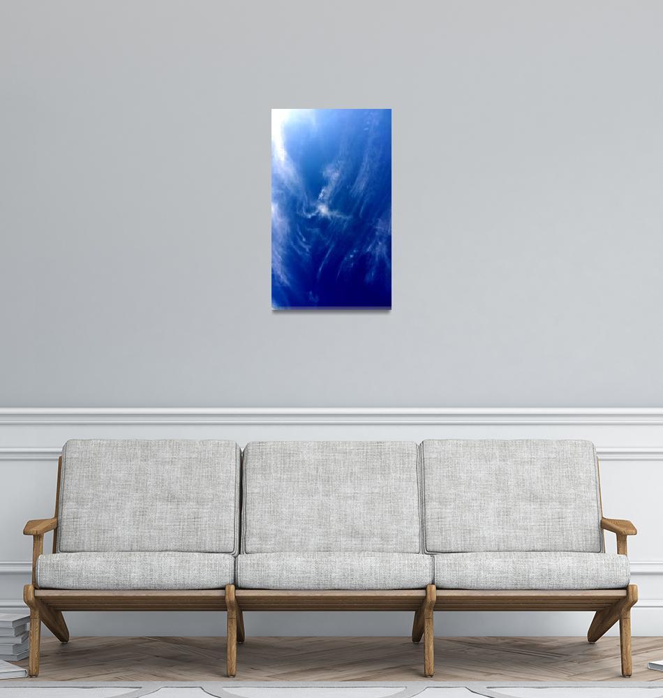 """""Miami Beach Clouds 2"" #5112814""  (2014) by achimkrasenbrinkart"