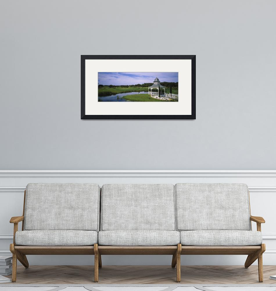 """""""Rotunda in a golf course""""  by Panoramic_Images"""