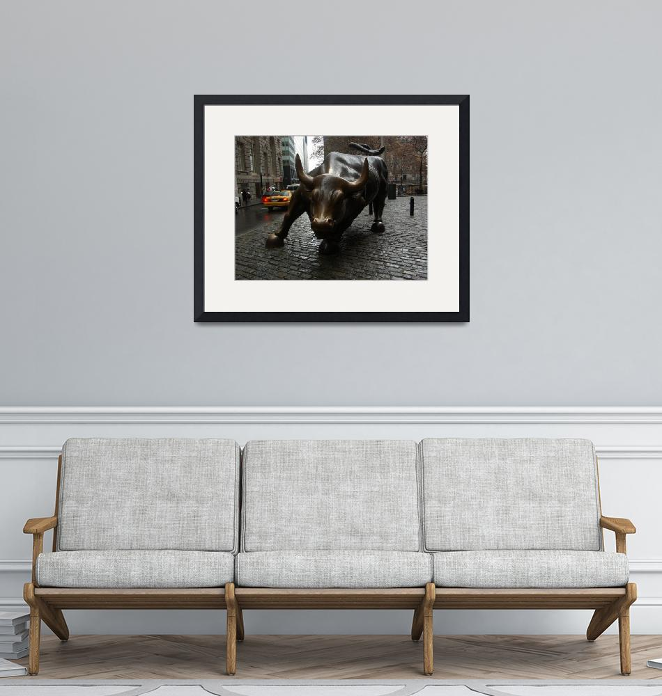 """Wall Street Bull""  (2007) by JohnFraissinet"