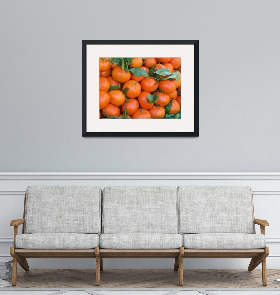 """""""tangerines""""  (2006) by NickBiscardiArt"""