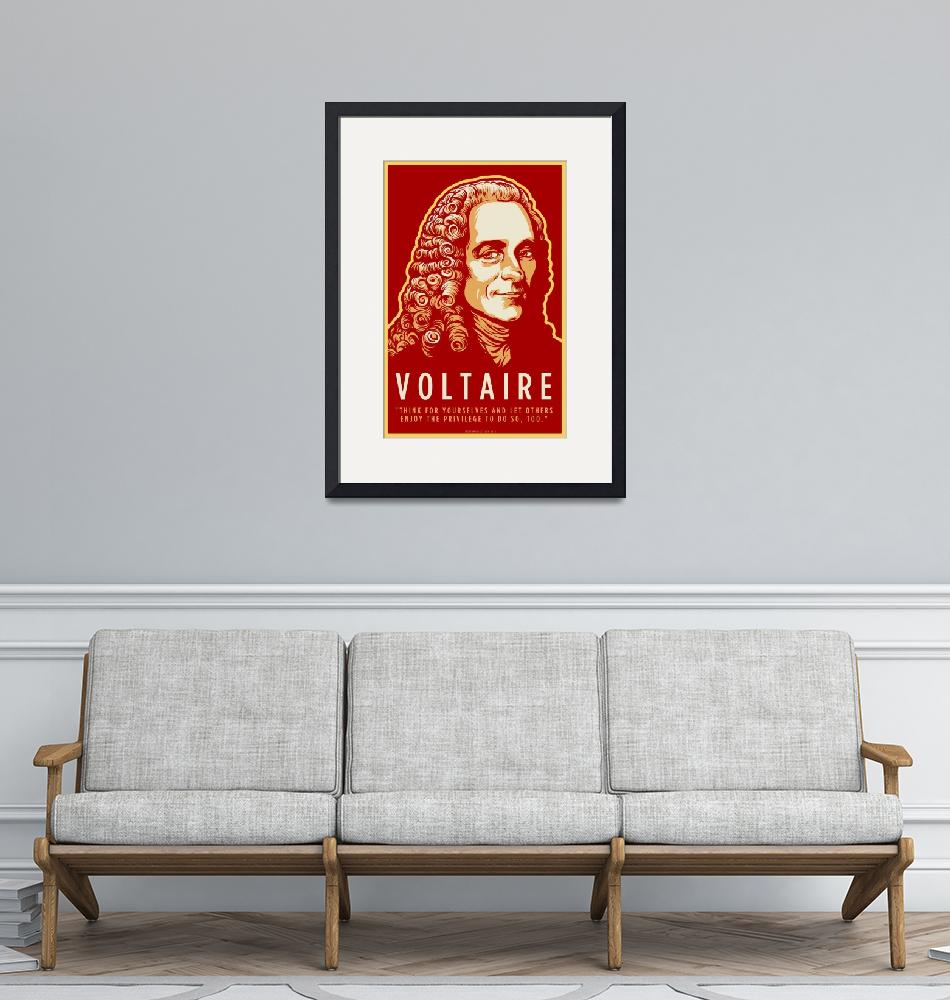 """""""Voltaire""""  (2010) by libertymaniacs"""
