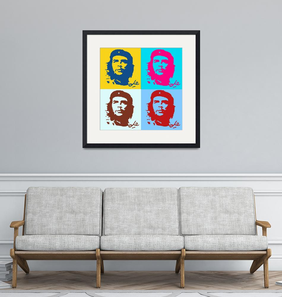 """""""Che Guevara Poster 21""""  by motionage"""