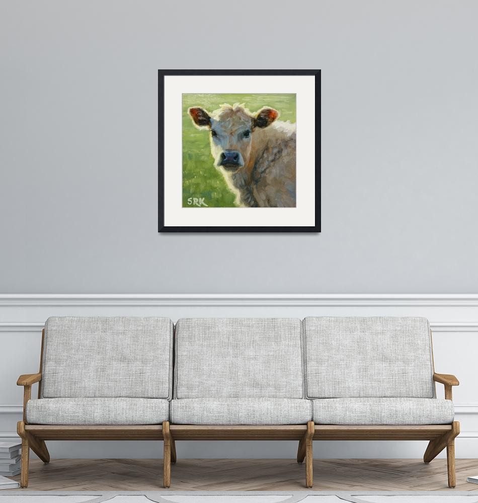 """""""Cow 3""""  (2020) by soniakane"""
