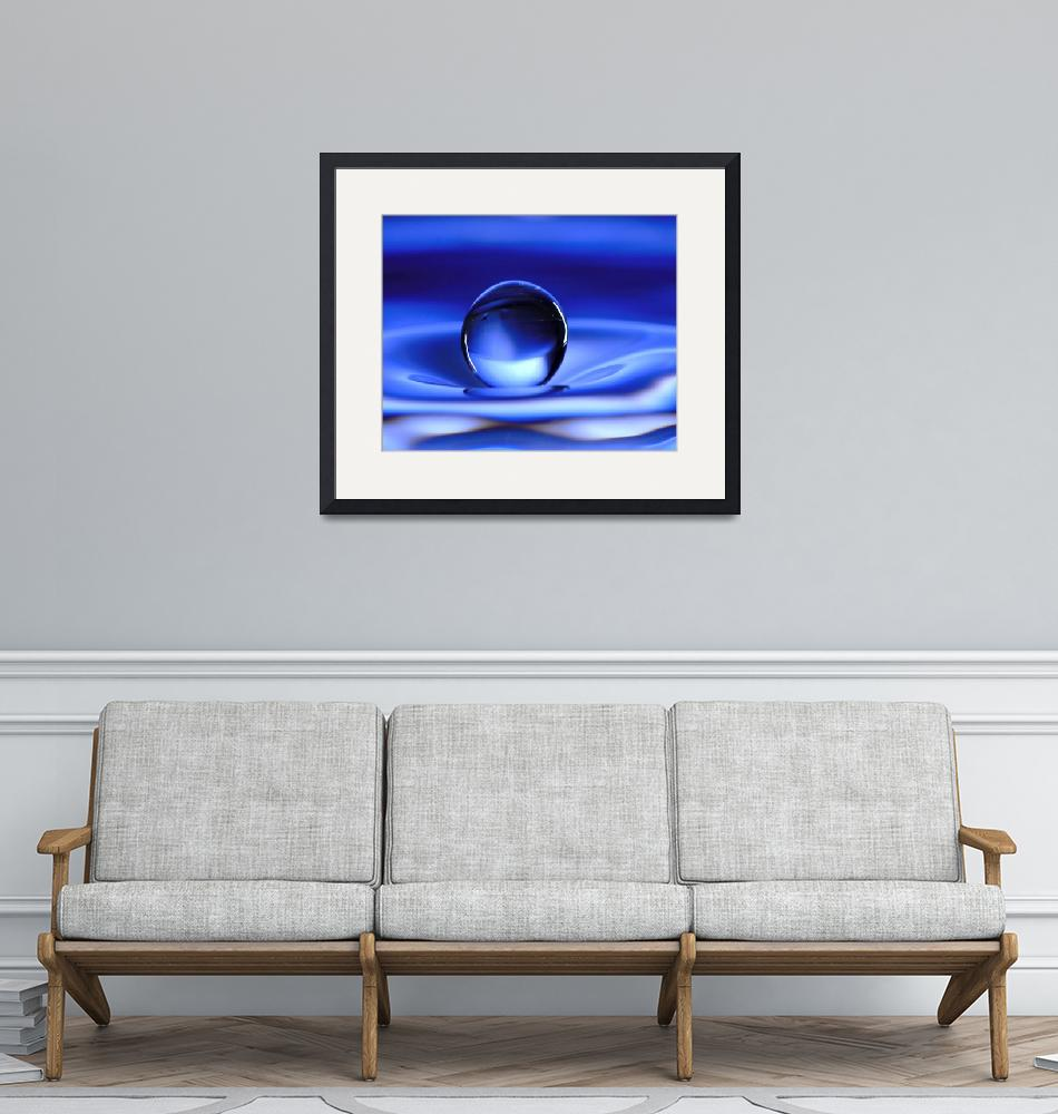 """""""Floating Water Drop""""  (2006) by photocatphoto"""