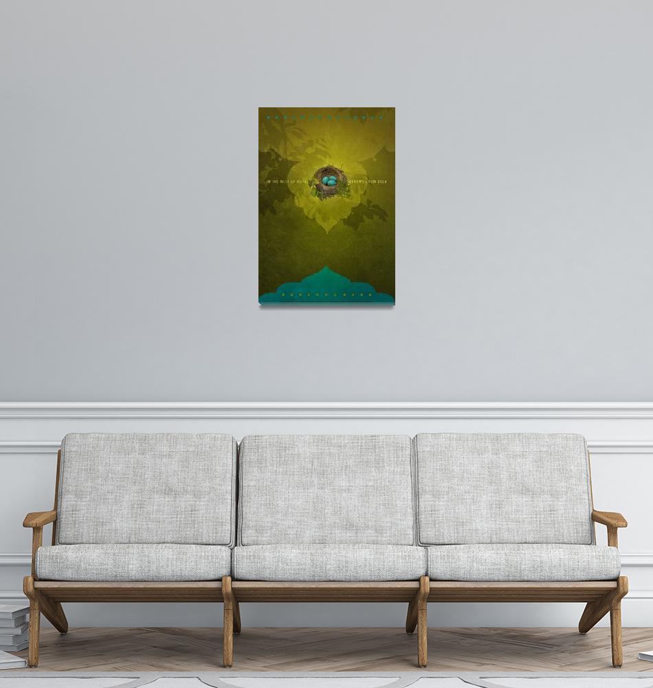 """Nest of Hope""  by Duirwaigh"