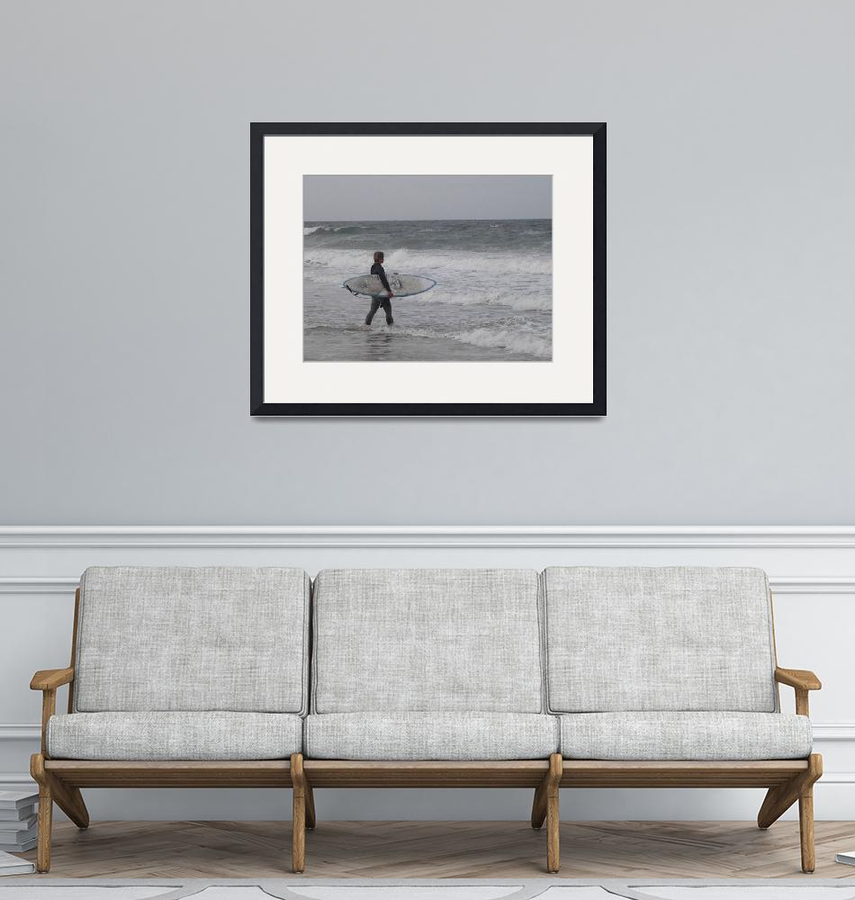 """East Coast Surfer""  (2011) by copperboxphotography"