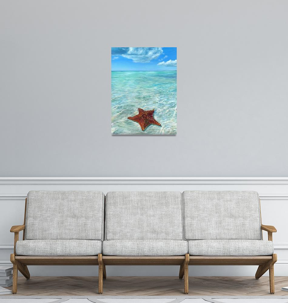 """""""Starfish Point""""  (2020) by the_painting_stoof"""