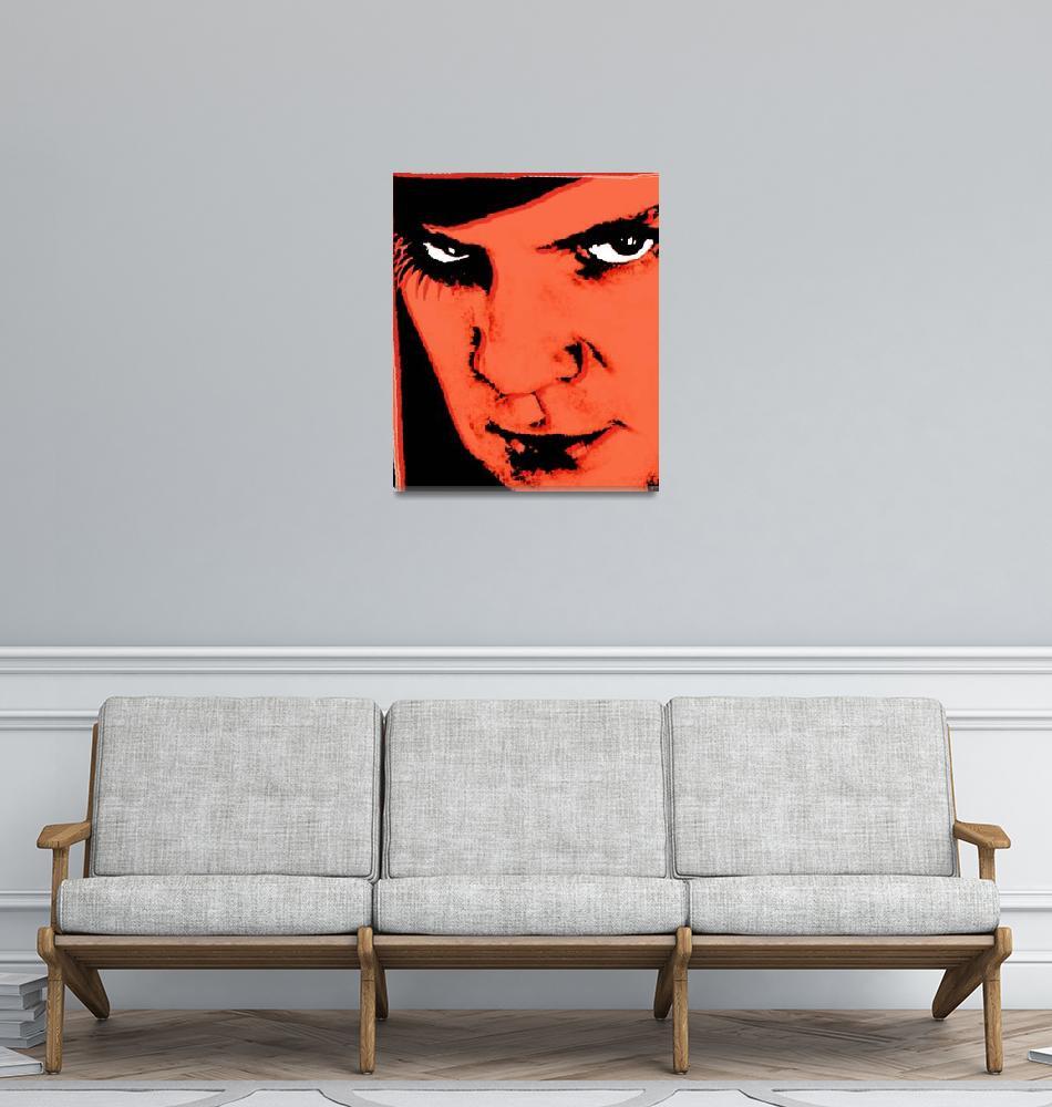 """""""A Clockwork Orange Malcolm McDowell""""  (2014) by RubinoFineArt"""