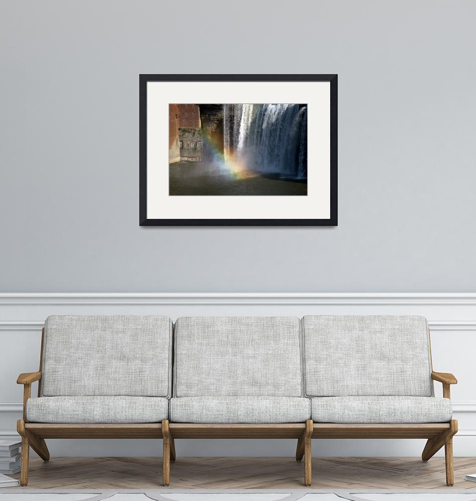 """HIGH FALLS RAINBOW""  by christopherbacon"
