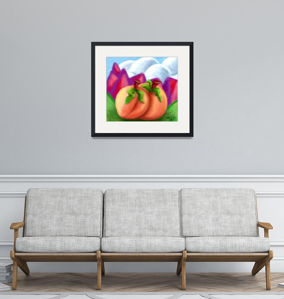 """""""Peaches of the Valley"""" (2021) by GabeRusso"""
