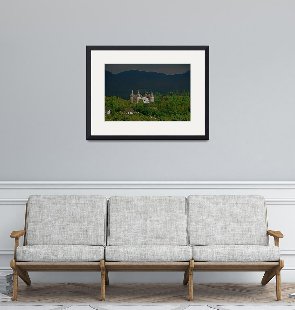"""""""Castle in the Perthshire Foothills of Scotland""""  (2008) by leicafan"""