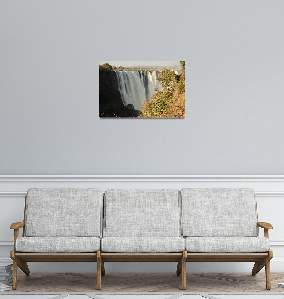 """Victoria Falls  6102""  (2013) by rayjacque"
