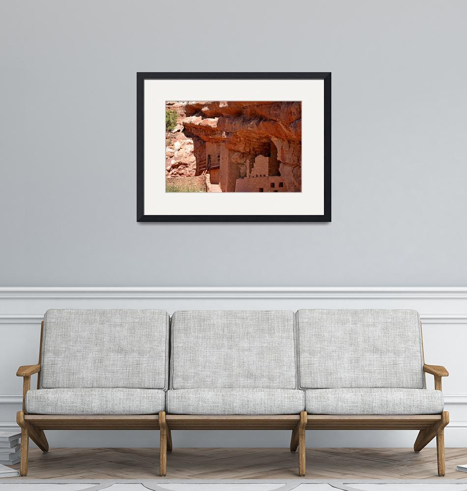 """Manitou Cliff Dwellings Study 2""  (2017) by robertmeyerslussier"