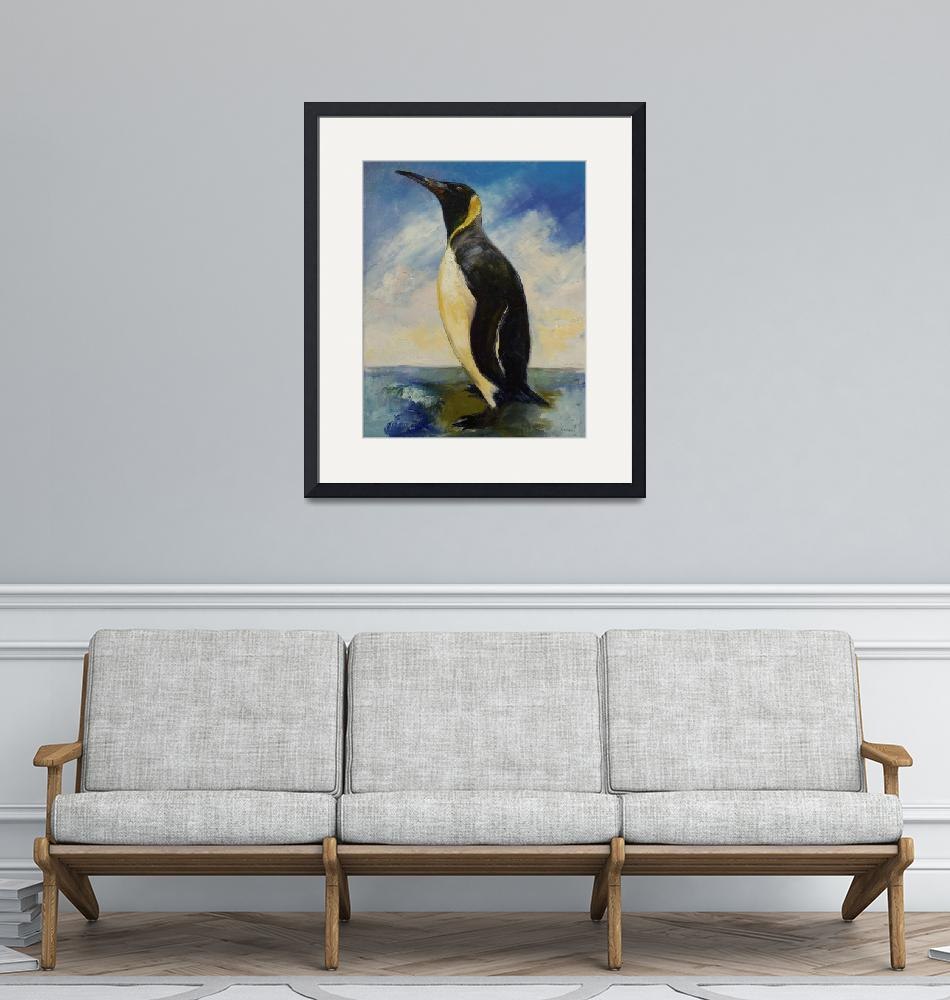 """""""King Penguin""""  by creese"""