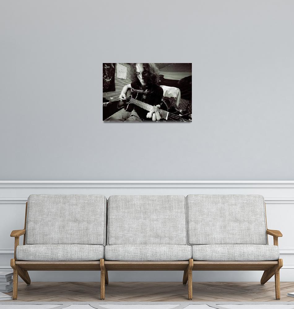 """Musician in the Studio""  (2009) by ArgosDesigns"