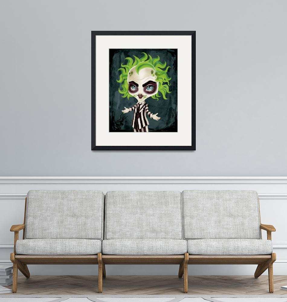 """""""The Ghost With The Most""""  (2018) by sandygrafik_arts"""