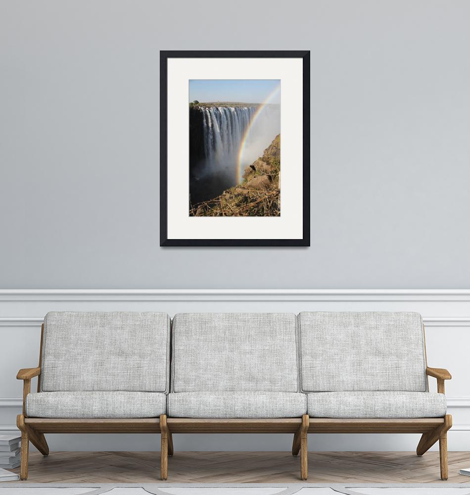 """""""Victoria Falls  6125""""  (2013) by rayjacque"""
