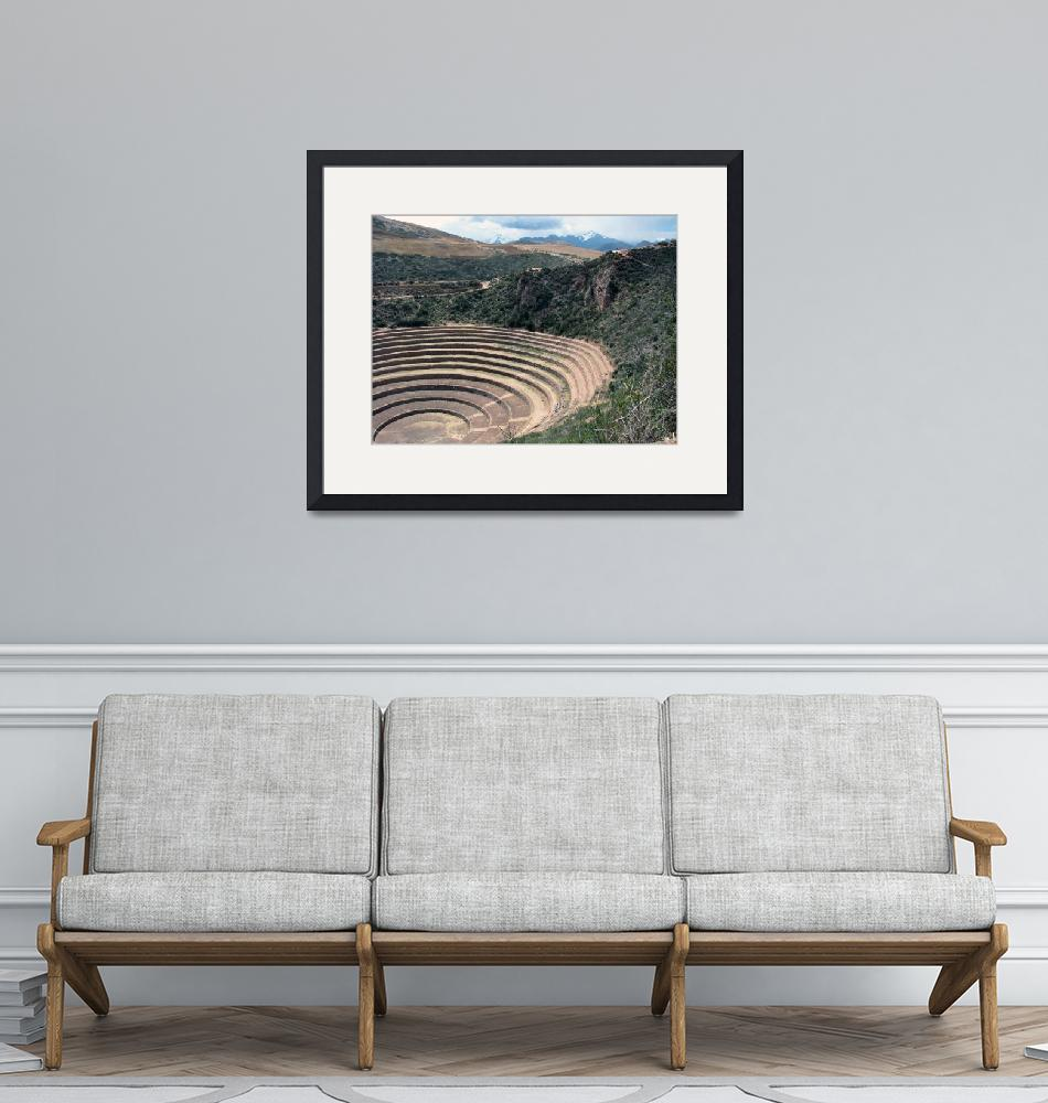 """""""Moray in the sacred valley of the Incas""""  (2010) by Maly"""